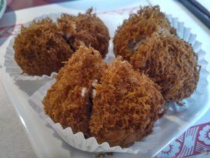 Taro balls - Hung Sum