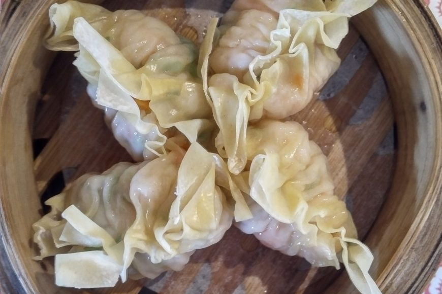 Coriander shrimp dumplings - Hung Sum