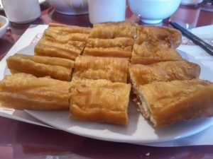 Chinese fried dough - Hung Sum