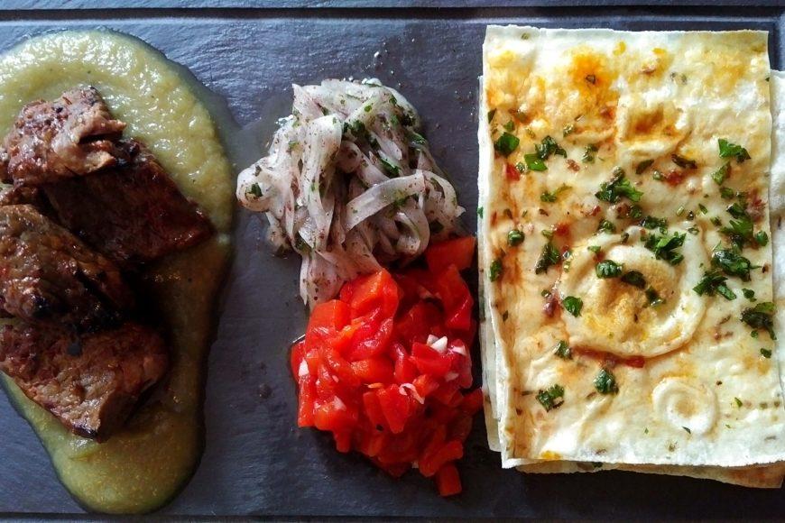 Kasbushi kebab and lavash - Fairouz