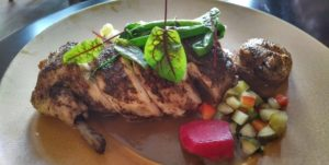 Sumac-glazed chicken