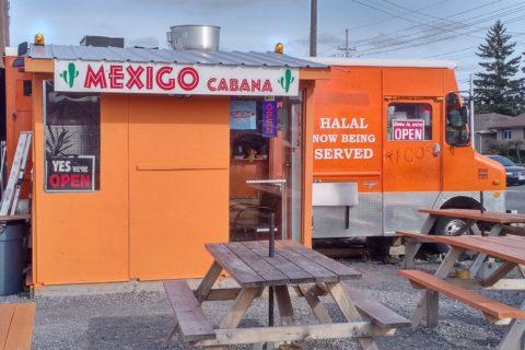 The orange truck itself - Mexigo Cabana