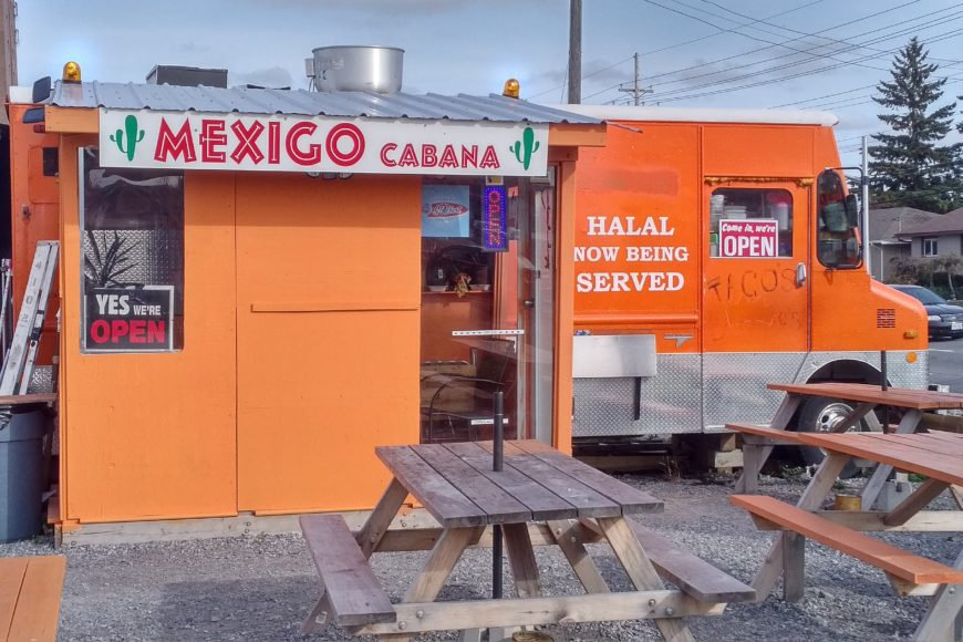 The orange truck itself - Mexigo Cabana