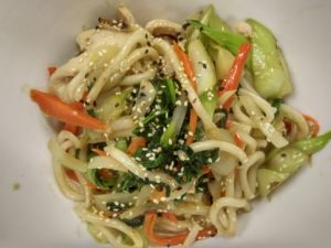 Stir fried noodles and veggies - Table 85