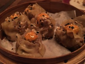 Pork and shiitake dumplings - The Belmont
