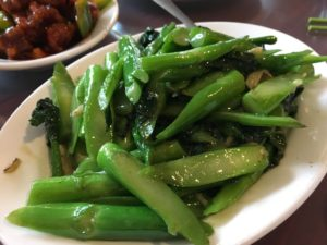 Chinese broccoli with ginger - Cafe Orient