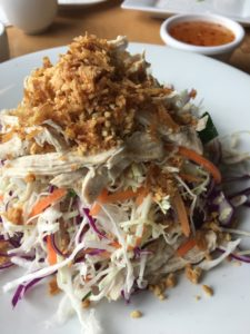 Shredded chicken slaw - The Noodle House