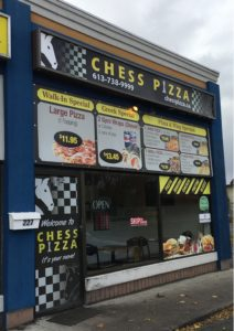 Cheese Pizza storerfront