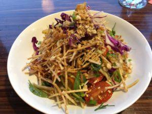 Roku salad - Roku bar + bites