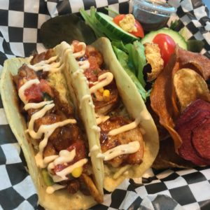 Fish and shrimp tacos - Ad Mare