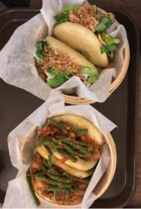 Shaoking pork and beef brisket bao - Gongfu Bao