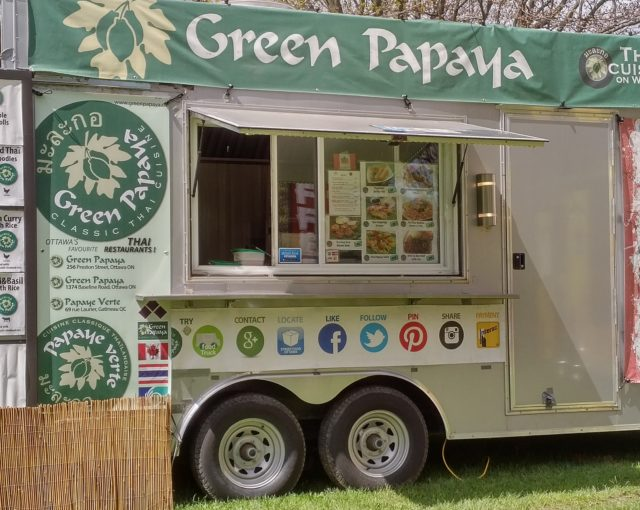 Green Papaya Thai Wagon