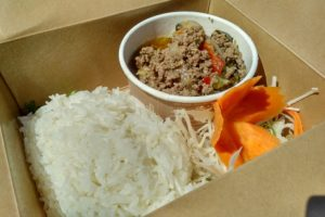 Chili and basil beef - Green Papaya Thai Wagon