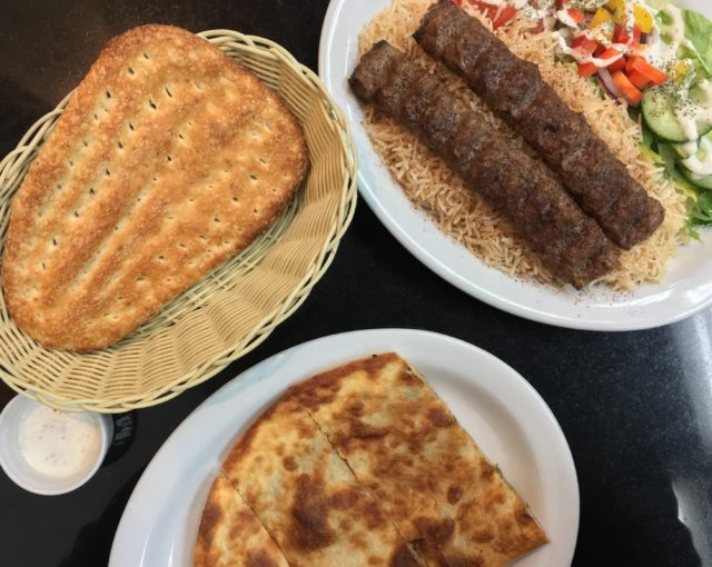Full spread - Afghani Kabob Express