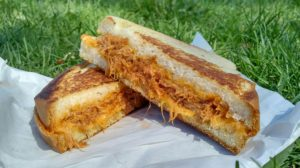 Pulled pork grilled cheese - Golden Fries and The Grilled Cheeserie
