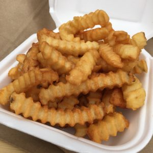 Crinkle-cut fries - Big Town Burgers