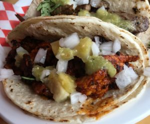 Al pastor taco - Si Senor