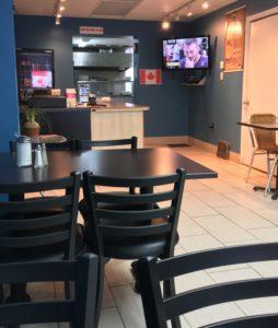 Interior - Gina's Cafe