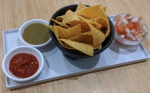 Chips and salsas - La Fiesta Latina