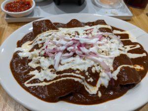 Enchiladas de mole - La Fiesta Latina