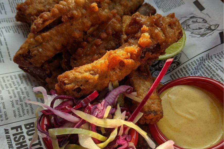 Pork belly fries - Glebe Central Pub