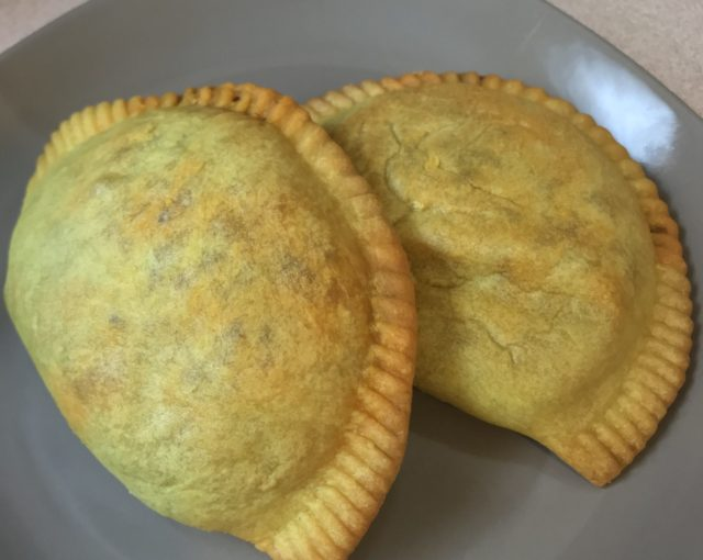 Jamaican patties at Run 2 Patty