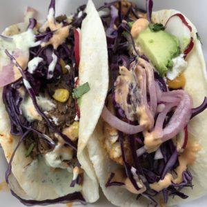 Tacos at Crave Tacos