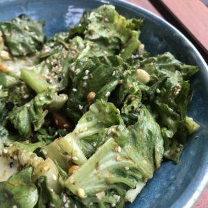 Green tea leaf salad - Rangoon Restaurant