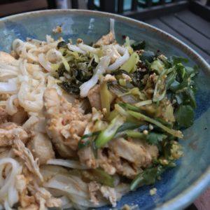Shan noodles - Rangoon Restaurant